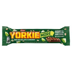 Yorkie MORE Milk Chocolate Bar with Oats, Apple and Cinnamon 42g