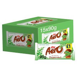 Aero Peppermint Mint Chocolate Sharing Bar 90g PMP £1