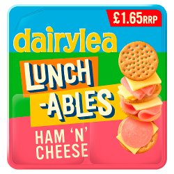 Dairylea Lunchables Ham 'n' Cheese £1.65 74.1g
