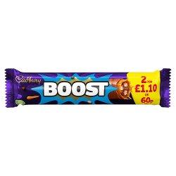 Cadbury Boost Chocolate Bar 60p 48.5g