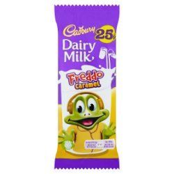 Cadbury Dairy Milk Freddo Caramel 25p Chocolate Bar 19.5g