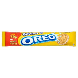 Oreo Golden Sandwich Biscuits 79p 154g