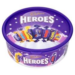 Cadbury Heroes Chocolate Tub 660g
