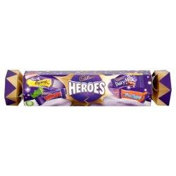 Cadbury Heroes Chocolate Cracker 123g