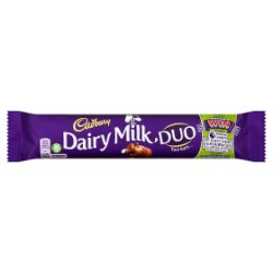 Cadbury Dairy Milk Duo Chocolate Bar 58.6g