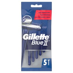 Gillette BlueII Men's Disposable Razors x5