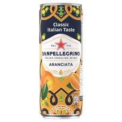 San Pellegrino Classic Taste Orange Slim Can 330ml