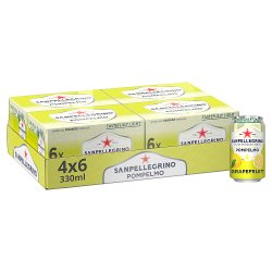 San Pellegrino Grapefruit 4x6x330ml