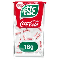 Tic Tac Limited Edition Coca-Cola 18g