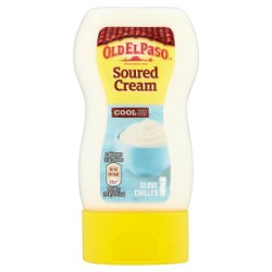 Old El Paso Cool Soured Cream Topping 230g