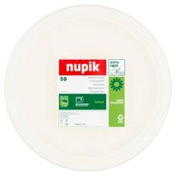 Nupik 50 24.5cm Fibre Compostable Paper Plate