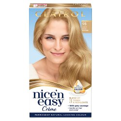 Clairol Nice'n Easy Hair Dye, 9B Light Beige Blonde