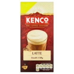Kenco Latte Instant Coffee £1.50 PMP Sachets x5