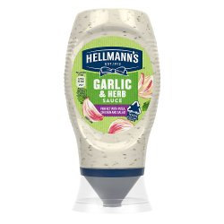 Hellmann's Garlic and Herb Sauce 250ml