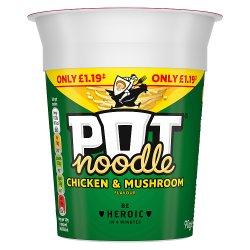 Pot Noodle Chicken & Mushroom standard PMP 90 GR
