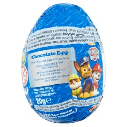 Paw Patrol Chocolate Egg 20g