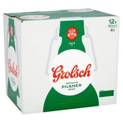 Grolsch Premium Pilsner Beer 12 x 330ml