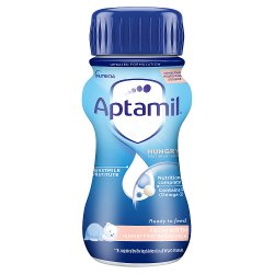 Aptamil Hungry Infant Milk 0-6 Months 200ml