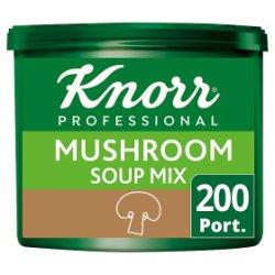 Knorr 123 Mushroom Soup 200 Portions