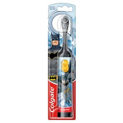 Colgate Kids Batman Extra Soft Battery Toothbrush 3+ Years