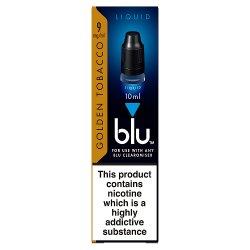 blu® Liquid Golden Tobacco 0.8% 10ml