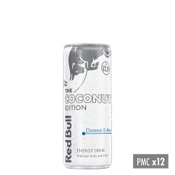 Red Bull Energy Drink, Coconut Edition, PM £1.29, 250ml (12 Pack)