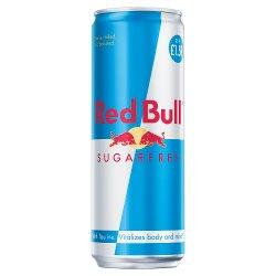 Red Bull Energy Drink, Sugar Free 355ml, PM £1.59 (24 Pack)