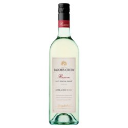 Jacob's Creek Reserve Adelaide Hills Sauvignon Blanc White Wine 75cl