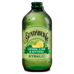 Bundaberg Lemon, Lime & Bitters 375ml Glass Bottle