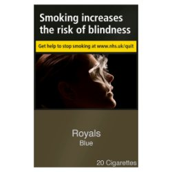 Royals Blue 20 Cigarettes