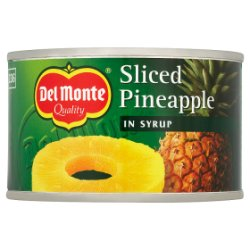 Del Monte Sliced Pineapple in Syrup 234g