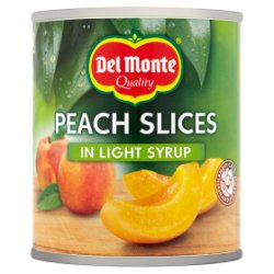 Del Monte Peach Slices in Light Syrup 227g