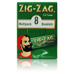 Zig-Zag Papers Green 8 Pack