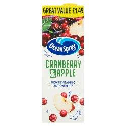 Ocean Spray Cranberry & Apple 1 Litre