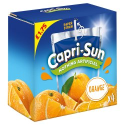 Capri-Sun Orange 4 x 200ml PM £1.75