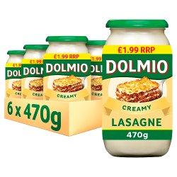 Dolmio Lasagne PMP £1.99 Creamy White Sauce 470g