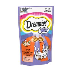 Dreamies Adult 1+ Cat Treats Mixed with Chicken and Duck 60g