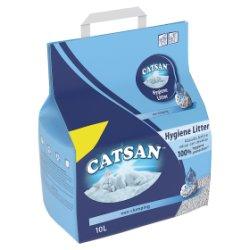 CATSAN Hygiene Cat Litter 10L MPP £5.99