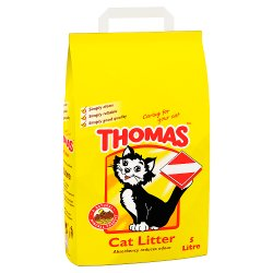 THOMAS Cat Litter 5L (MPP £3.49)