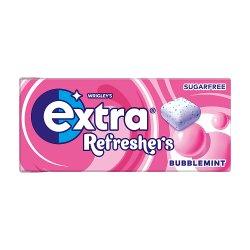 Extra Refreshers Bubblemint Sugar Free Chewing Gum Handy Box 7pcs