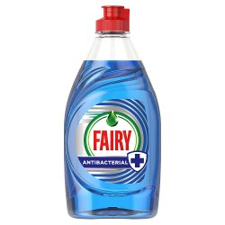 Fairy Antibacterial Washing Up Liquid Eucalyptus 383 ml