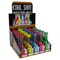 Cool Shot Mixed Vodka Shots 25 x 20ml