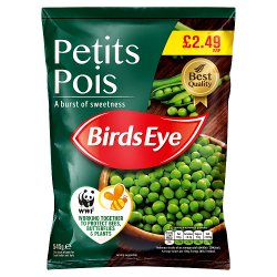 Birds Eye Petits Pois 545g