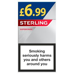 Sterling Super King GBP6.99