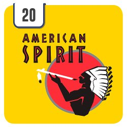 American Spirit Yellow 20s