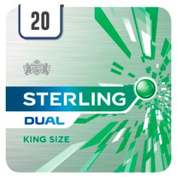 Sterling Dual 20 Cigarettes Track & Trace Compliant
