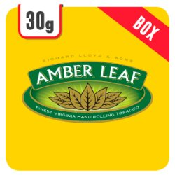 Amber Leaf 30g Crush-Proof-Box