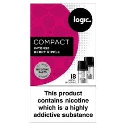 Logic Compact 2 E-Liquid Pods Intense Berry Ripple 18mg