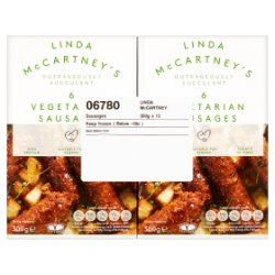 Linda McCartney Vegetarian Sausages 12 x 300g
