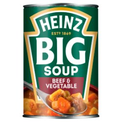 Heinz Big Soup Beef & Vegetable 400g